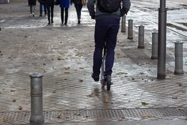 Premier accident mortel à Bruxelles en trottinette électrique