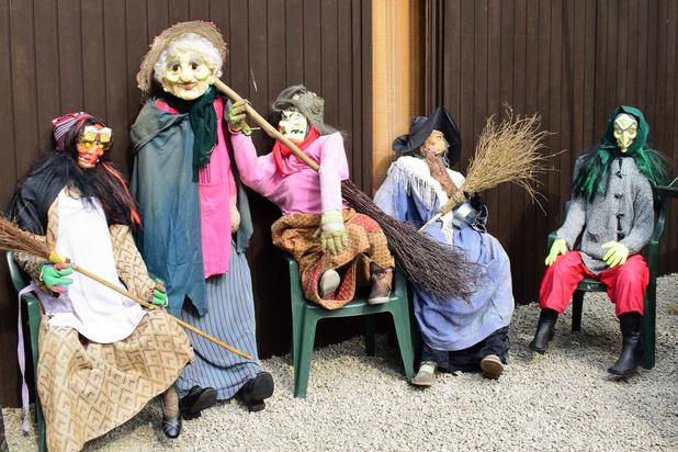 De heksen zijn aan het ontwaken in Beselare