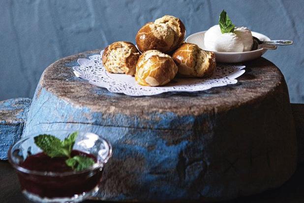 Britse scones voor high tea