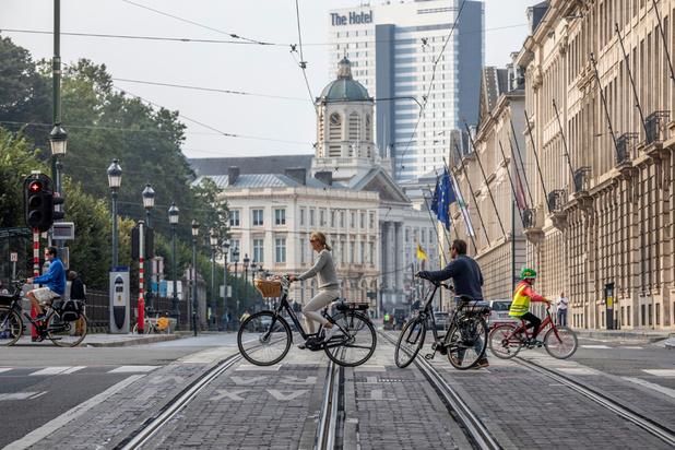 Un dimanche sans voiture calme et sans incident majeur à Bruxelles