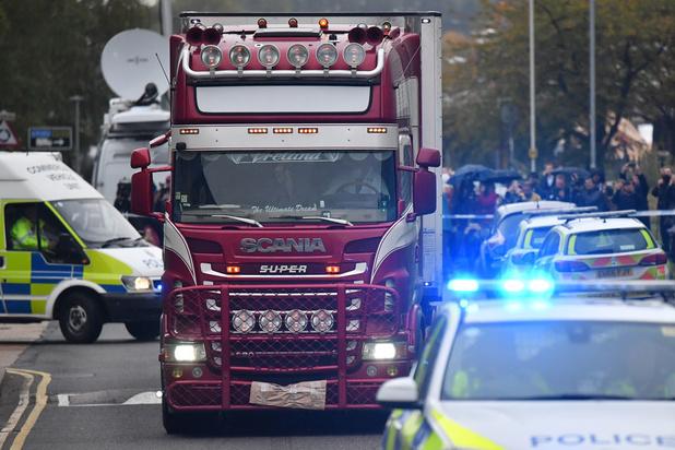 Doden in vrachtwagen in Essex: Britse politie bevestigt dat alle slachtoffers Chinezen zijn