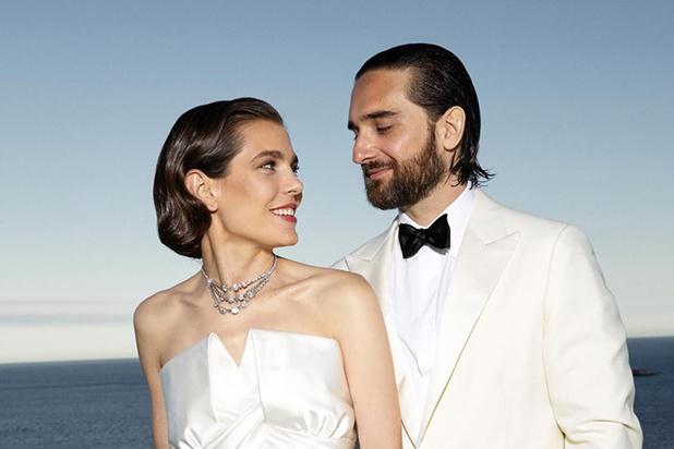Charlotte Casiraghi a épousé Dimitri Rassam