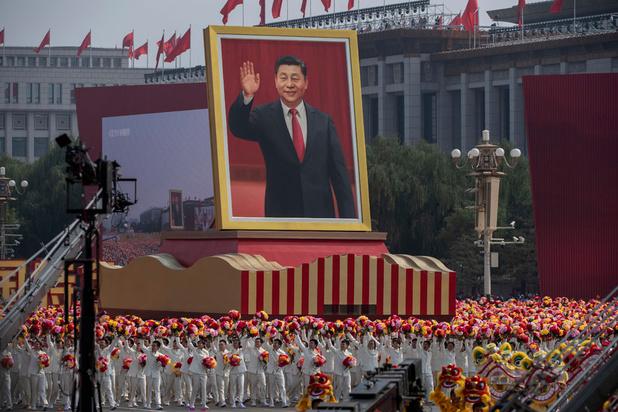 """Xi et Kim célèbrent l'amitié """"immortelle"""" entre la Chine et la Corée du Nord"""