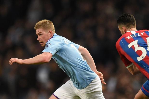 De Bruyne et City piégés par Crystal Palace, Trossard buteur avec Brighton