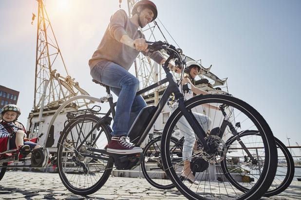 Dubbel zoveel Belgen fietsen naar het werk op vijf jaar tijd