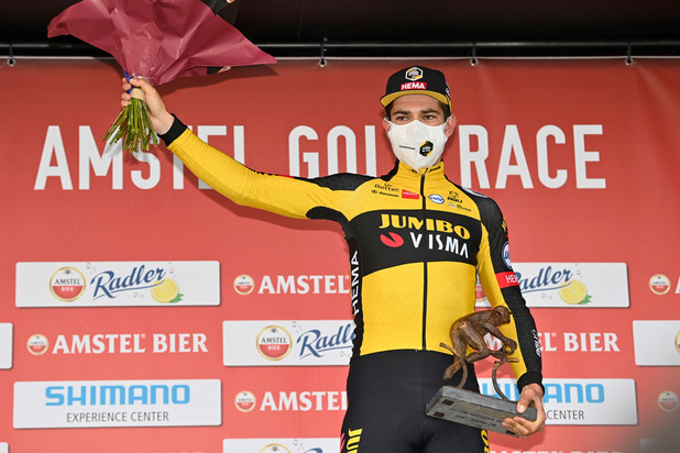 Amstel Gold Race: Wout van Aert s'impose d'un rien et prend sa revanche sur Pidcock