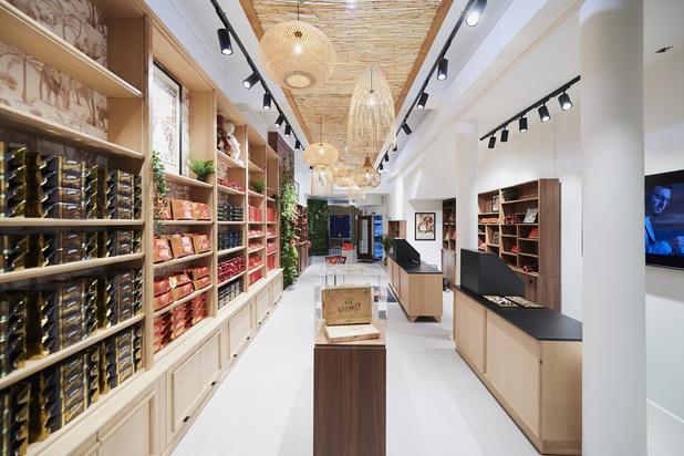 La marque de chocolat préférée des Belges ouvre boutique au coeur de Bruxelles