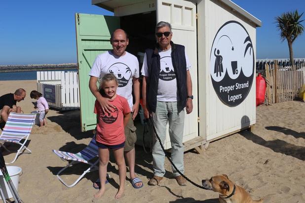 Coast Cleanup Day onder een stralende zon