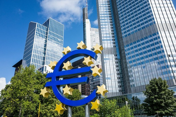 Zone euro : l'inflation négative en décembre pour le 5e mois consécutif