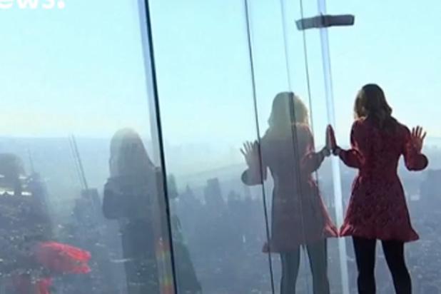 Nouvelle terrasse panoramique spectaculaire à New York (vidéo)