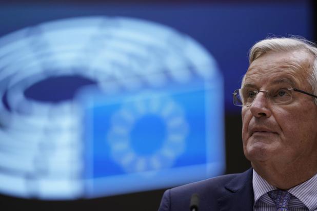 """Relation post-Brexit: Barnier """"inquiet"""" des positions britanniques"""