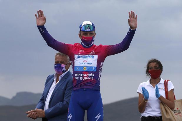Remco Evenepoel wint Ronde van Burgos