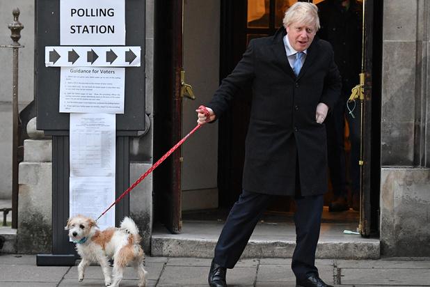 Exitpolls voorspellen ruime meerderheid voor Boris Johnson