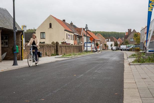 Heraanleg dorpskern Moerkerke afgerond, volgende werkfase voor Pasen 2020