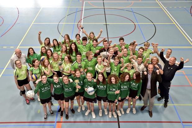 VMS uit Roeselare beleeft een uitzonderlijk sportief jaar
