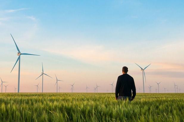 L'environnement en haut de la vague des fonds