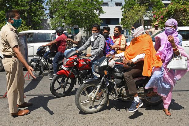 Virus: nouveau record de cas en Inde