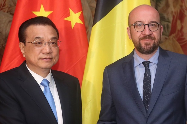 Charles Michel s'est entretenu avec son homologue chinois