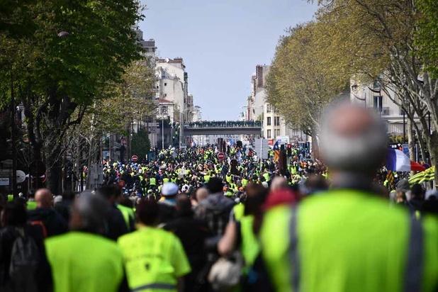 """France: les """"gilets jaunes"""" enregistrent leur plus faible mobilisation"""
