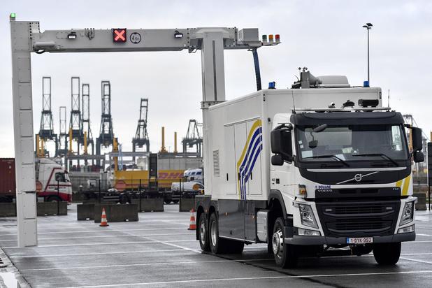 Le port d'Anvers, principale porte d'entrée de la cocaïne en Europe
