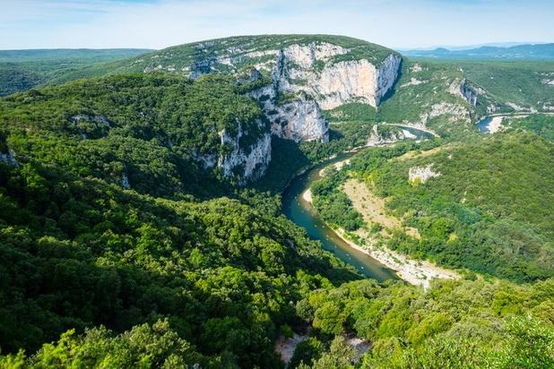 L'alcool interdit dans les gorges de l'Ardèche jusqu'au 30 septembre