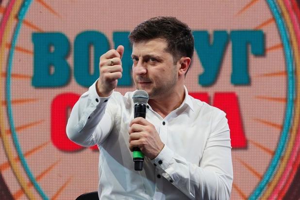 Porosjenko en Zelensky naar tweede ronde van Oekraïense presidentsverkiezingen