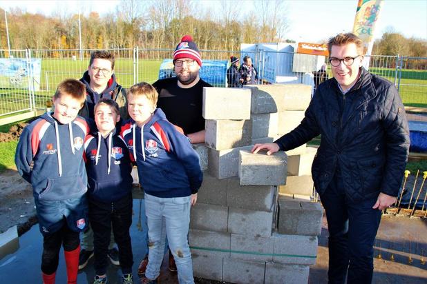 Bouw van Brugs Rugbycentrum gestart