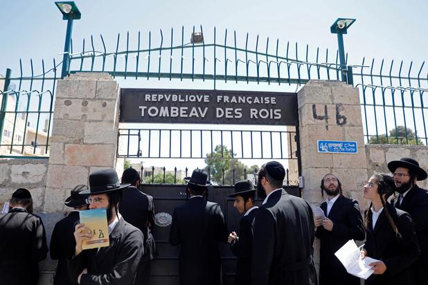 La France referme le Tombeau des rois à Jérusalem à la suite d'incidents