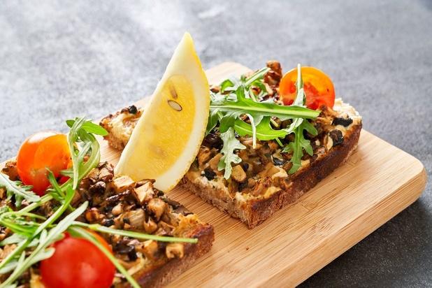 La recette du toast aux champignons du Pain Quotidien