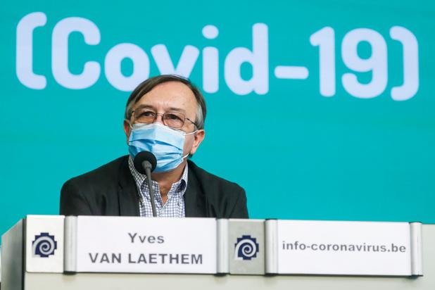 """Yves Van Laethem: """"n'attendez pas une forte fièvre pour penser au Covid"""""""