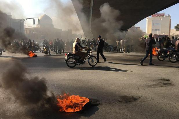 L'Iran bloque internet suite à des manifestations de rue