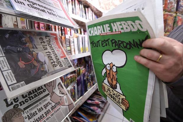 Charlie Hebdo brengt Mohamed-cartoons opnieuw uit