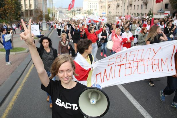 Bélarus: nouveau dimanche de manifestations malgré une forte présence policière