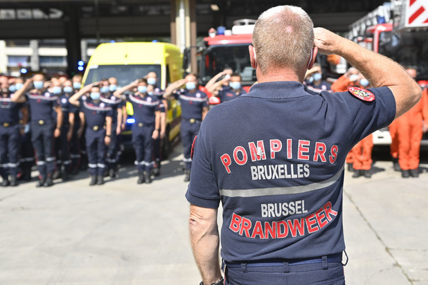 La Belgique rend hommage aux victimes des intempéries