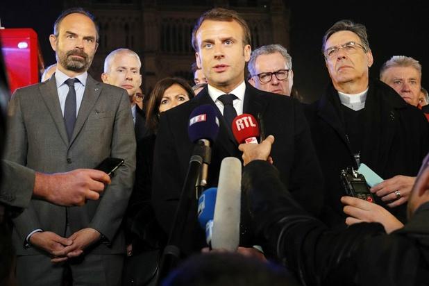 France: les annonces de Macron suspendues et trêve des partis pour les européennes