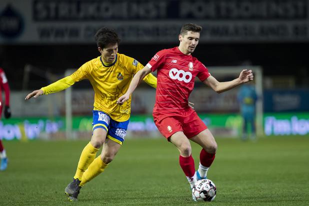 Le Standard, à dix pendant une heure, s'incline à Waasland-Beveren (2-1)