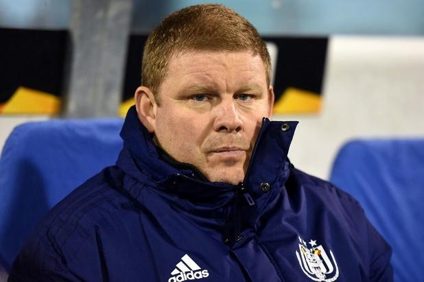 Anderlecht spreekt Vanhaezebrouck tegen: 'Ontslagvergoeding volledig uitbetaald'