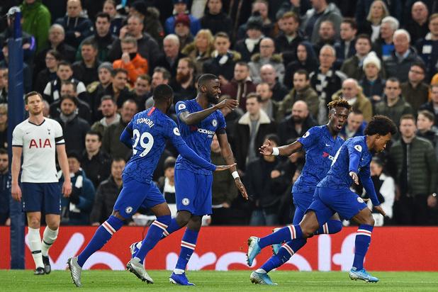 Chelsea et Batshuayi remportent le derby de Londres sur les terres des Belgian Spurs