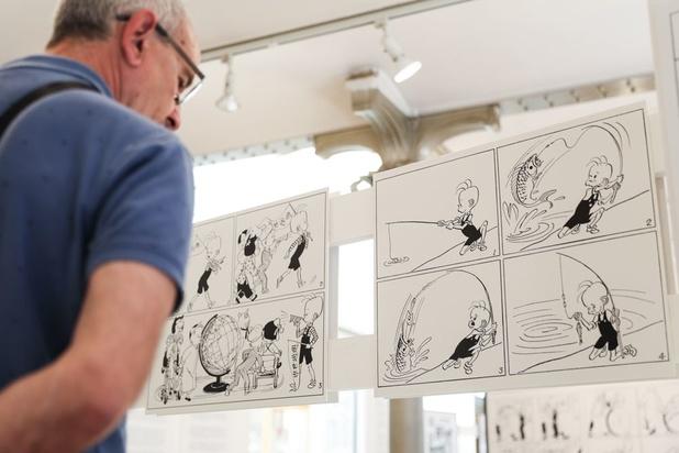 Tintin et des maîtres de la BD aux enchères
