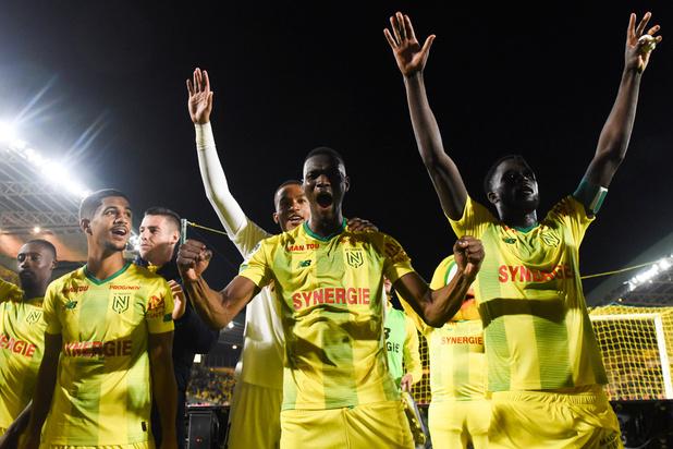FC Nantes (met Simon, Benavente en Appiah) staat eindelijk weer op de rails