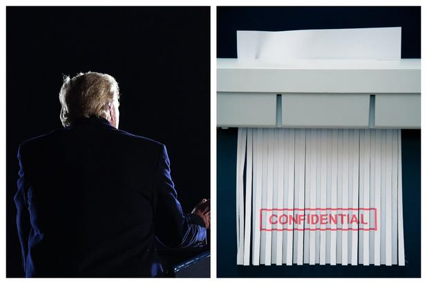 Trump laissera un trou béant dans les archives présidentielles