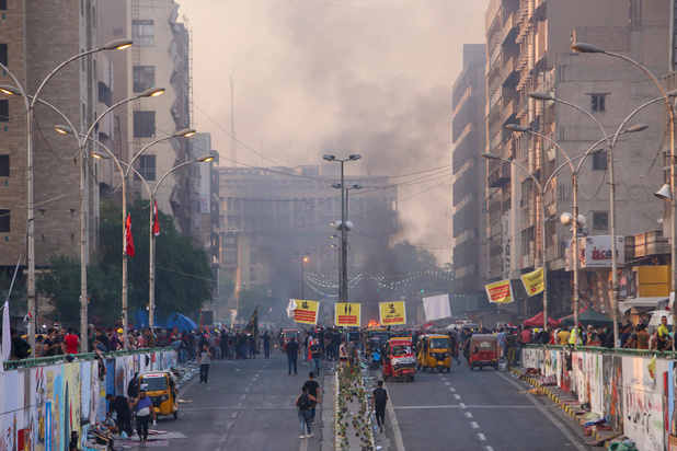 Les Irakiens de nouveau dans la rue malgré la répression qui va crescendo
