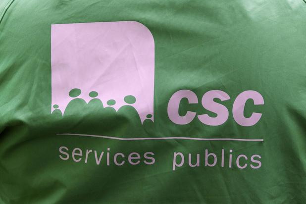Le rapport de force reste le même: la CSC est toujours le premier syndicat du pays