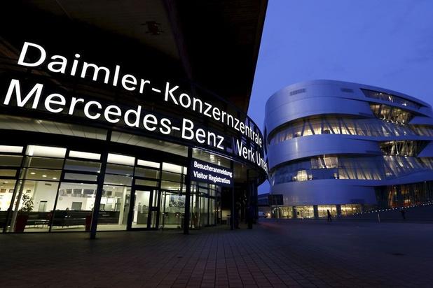 Daimler: première perte nette trimestrielle en 10 ans au 2T