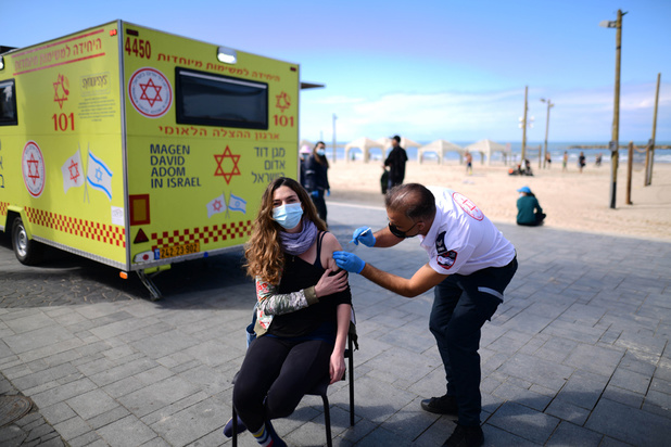Le vaccin Pfizer efficace à 95,8% selon Israël