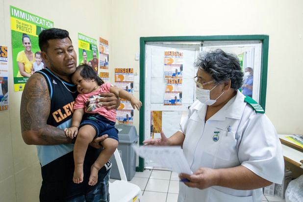 Samoa terrassées par la rougeole à cause d'un manque de vaccination