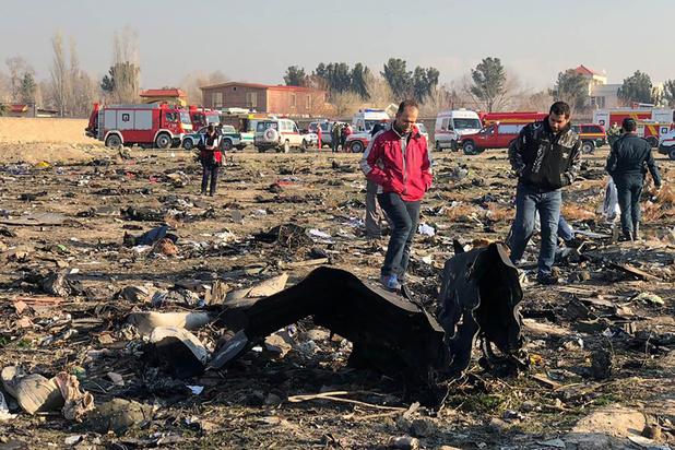 Oekraïense Boeing met zeker 176 inzittenden crasht na opstijgen in Teheran