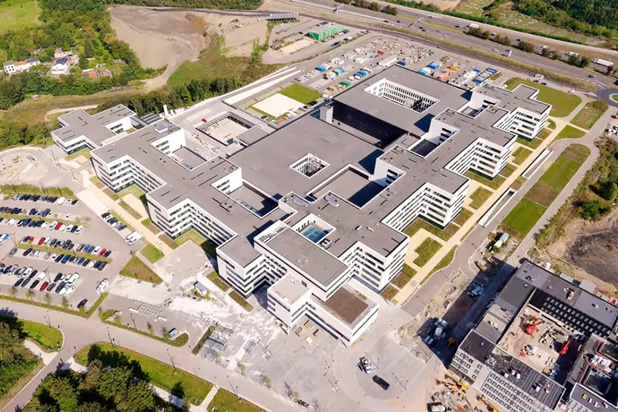 Mont Légia : visite en 3D du nouveau site hospitalier de Liège (vidéo)