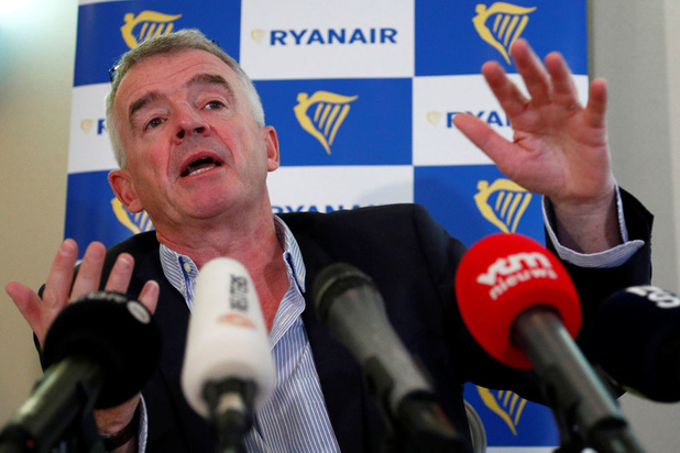 Ryanair wil dat Belgisch personeel tot 20 procent loon inlevert
