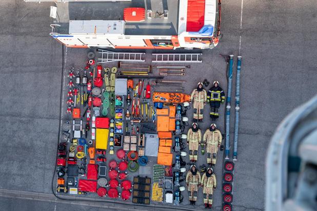 Tetris Challenge van brandweer Middelkerke